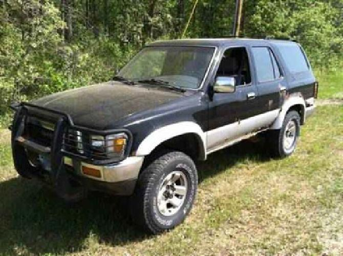 1 000 1990 toyota 4runner v6 4x4 for sale in pequot lakes minnesota classified. Black Bedroom Furniture Sets. Home Design Ideas