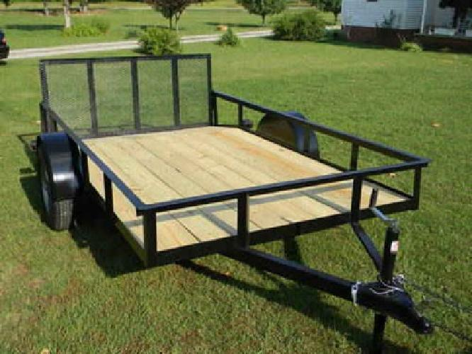 $1,000 6X12 Utility Trailer for sale in Hohenwald, Tennessee ...
