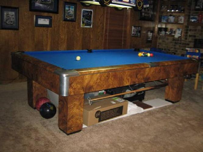 2 Piece Slate Pool Table 1,000 8'os Gandy Pool Table for sale in Irving, Texas Classified ...