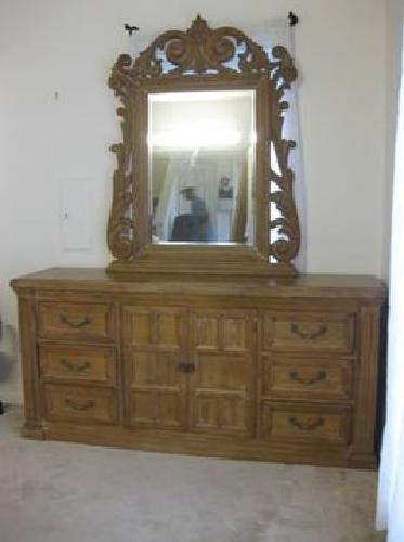 000moving sale bargain drexel heritage bel aire solid oak bedroom set