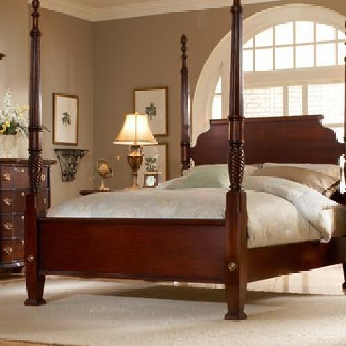 1 000 obo traditional four poster king size bedroom set - Four poster king size bedroom sets ...