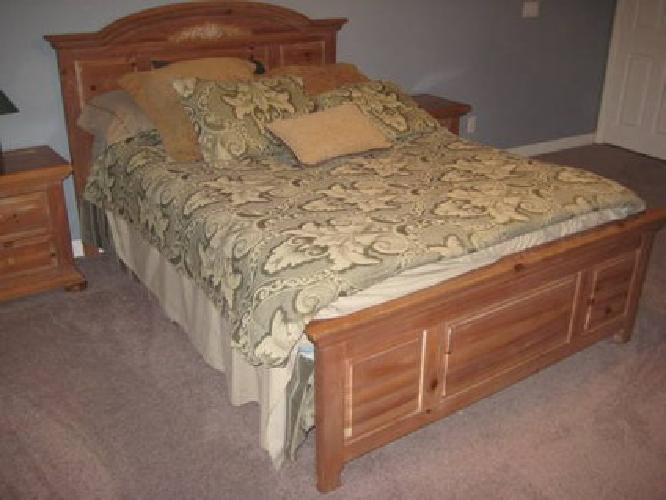 1 000 used broyhill fontana queen bedroom dresser night for Bedroom furniture 89117