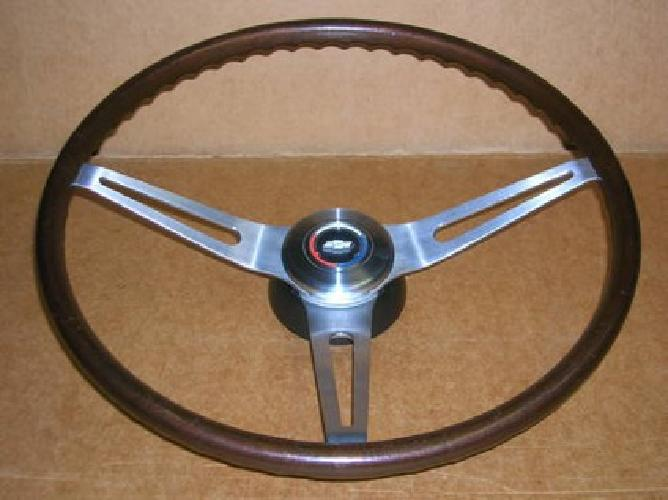 $1,075 69 Chevrolet Camaro Chevelle N34 Early Walnut Wood Steering Wheel Rare