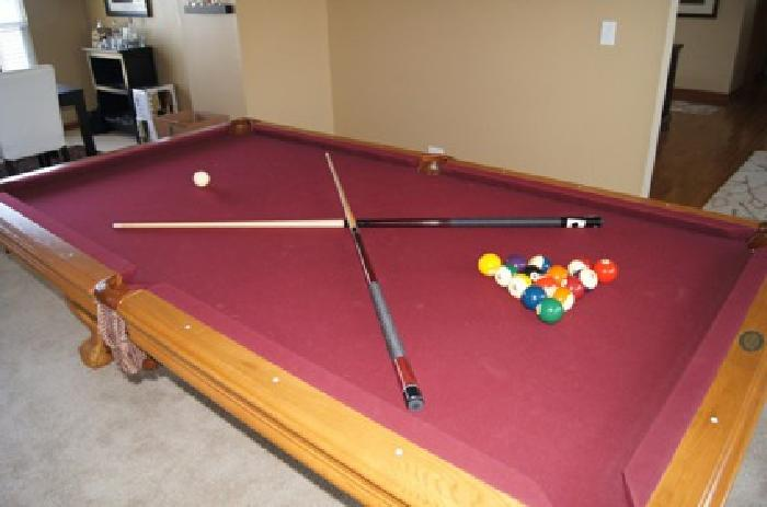 OBO American Heritage Pool Table For Sale For Sale In - American heritage pool table prices