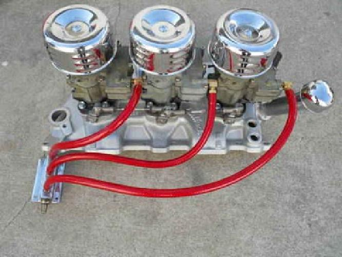 Chevy Tri-power Setup Related Keywords & Suggestions - Chevy