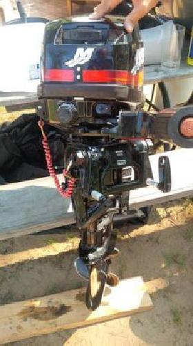 1 140 mercury 15 hp 2 stroke outboard boat motor kicker for Mercury 2 5 hp outboard motor for sale