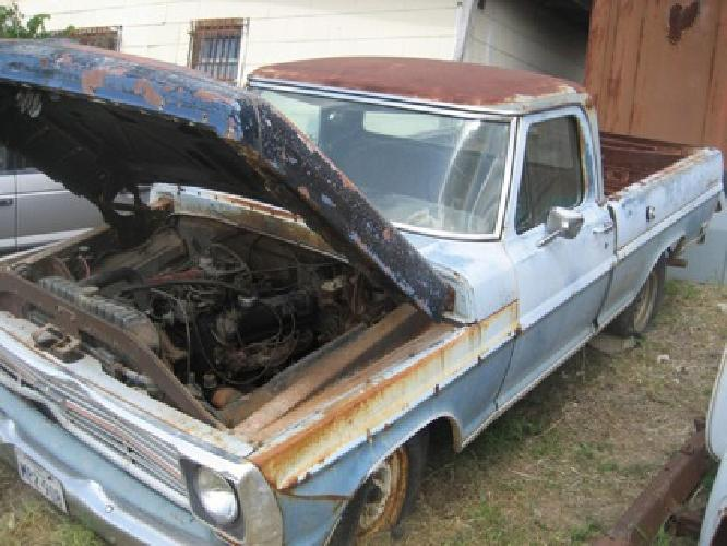 $1 1969 Ford f100 Ranger Truck Parts