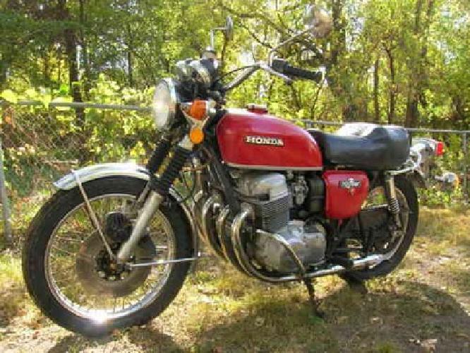 1 1974 honda cb 750 for sale in kansas city kansas for Honda motorcycle dealership kansas city