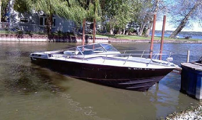1 1978 Wellcraft Nova 250 Xl 25ft Speed Boat Twin 350