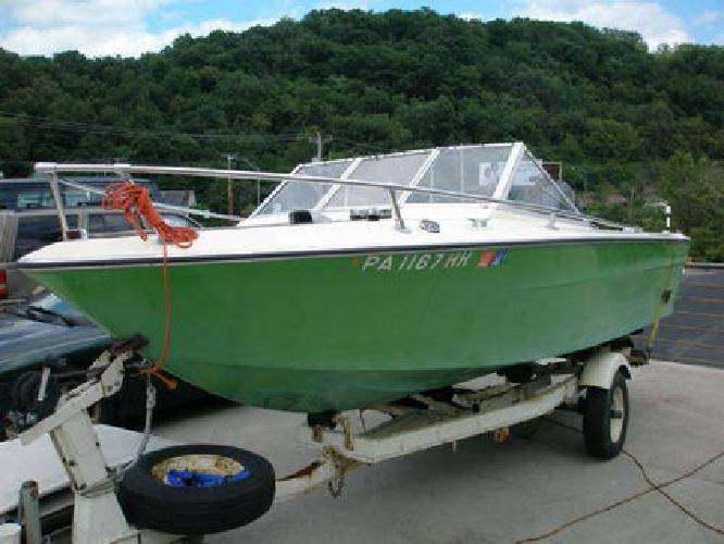 1 199 1975 century motor boat with 115 hp mercury for Century motors of south florida