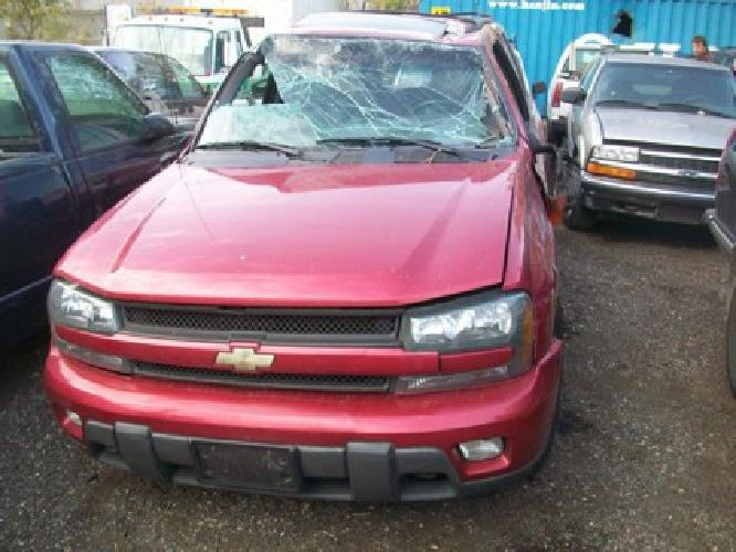 $1 2002 Chevy Trailblazer for parts good motor and trans