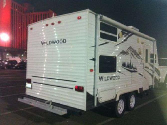1 2009 wildwood 20ft travel trailer like new below blue book for sale in anchorage alaska. Black Bedroom Furniture Sets. Home Design Ideas
