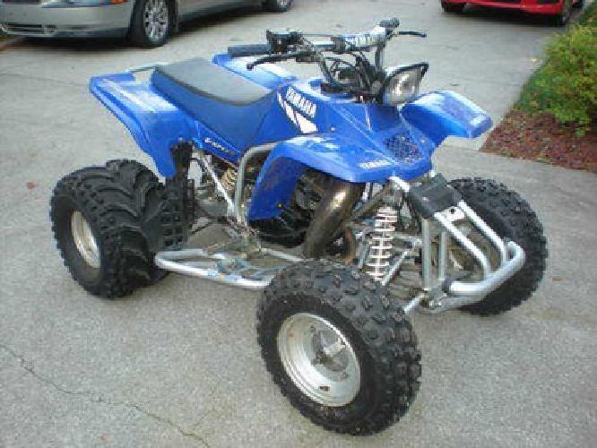 Four Wheeler Yamaha Blaster