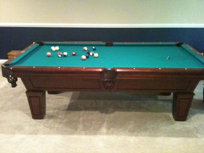 1 200 8 39 fischer the duke 3 piece slate pool table for for 1 piece slate pool table