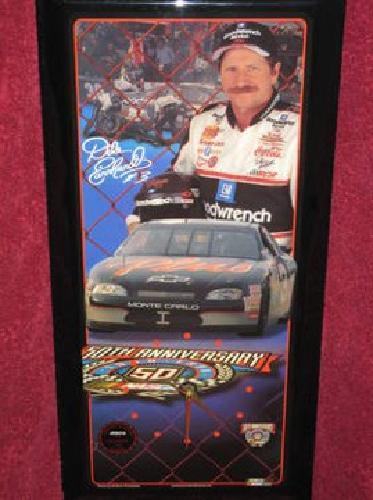1 200 Dale Earnhardt Nascar 50th Anniversary Clock