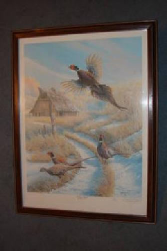 1 200 Ducks Unlimited Keith Warrick Limited Edition Print