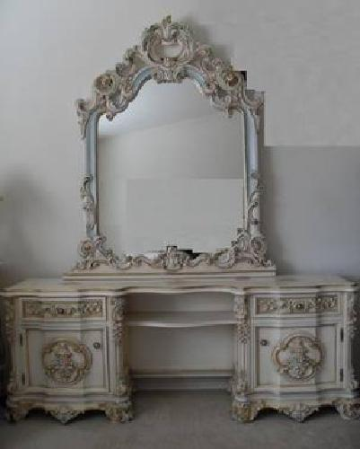 1 200 French Provincial Victorian Classic Makeup Vanity