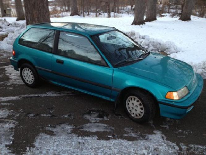 1 200 obo 1991 honda civic dx hatchback for sale in minneapolis minnesota classified. Black Bedroom Furniture Sets. Home Design Ideas