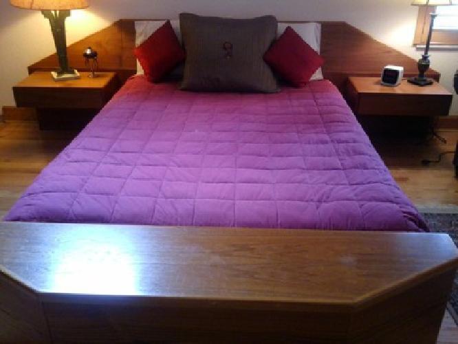 $1,200 OBO 3 piece Contemporary Scan Design Bedroom Set