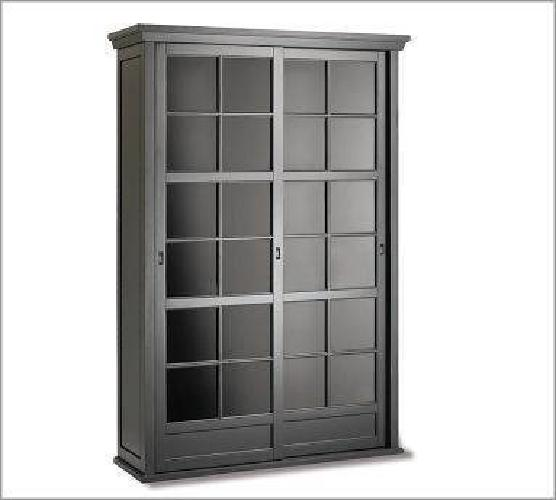 1 200 Pottery Barn Garrett Gl Cabinet 1200 Flushing Queens