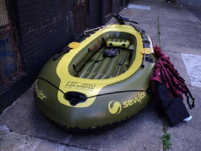 $1,200 Trade Boat and Motor