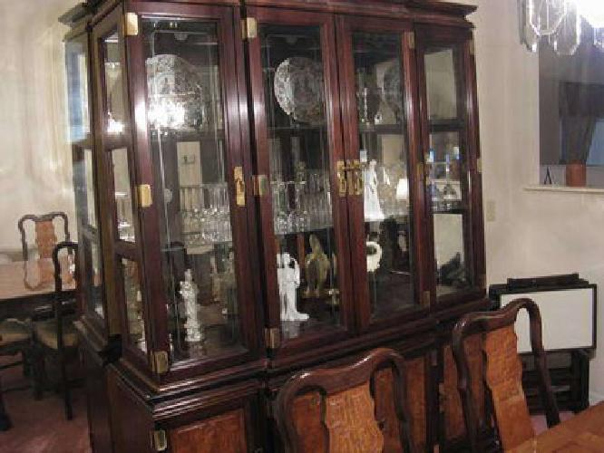 1 200 used formal dining room china cabinet buffet for for Formal dining room sets with china cabinet