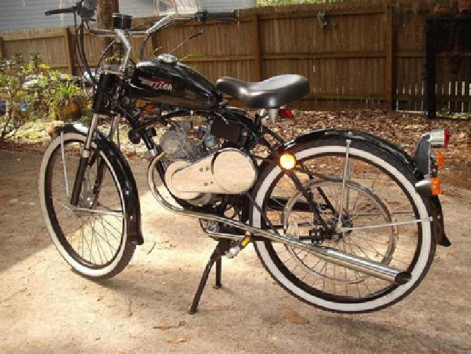 Bikes Made In Jacksonville Florida Whizzer motorcycle bike