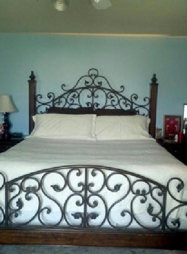 1 200 Wrought Iron King Bedroom Set For Sale In Fort Worth Texas Classified