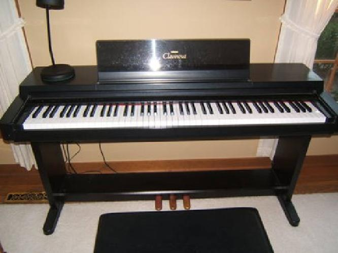 1 200 yamaha clavinova electric piano for sale in okemos for Used yamaha clavinova cvp for sale