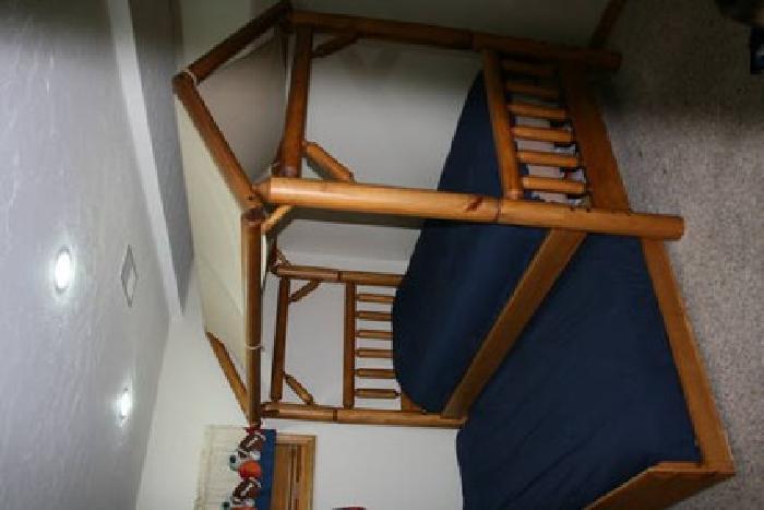 $1,250 Camp Granada Boys Bedroom Furniture   Cabin /Woods Design $1250.00  Obo