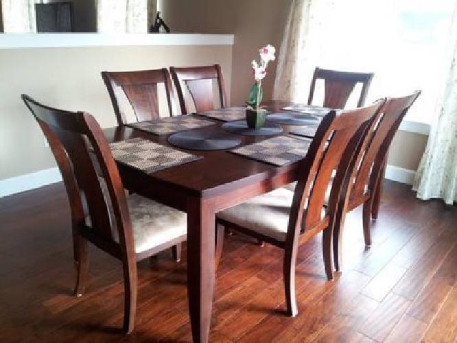 1 250 Metropolitan 7 Piece Contemporary Dining Set RectangularTable  6Chairs. 1 250 Metropolitan 7 Piece