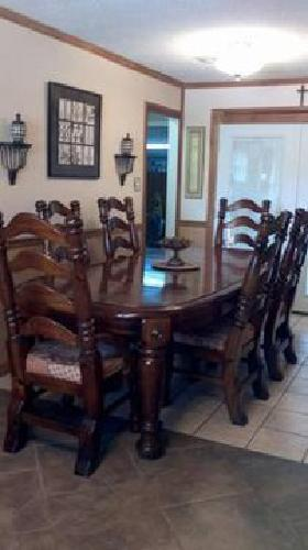 1 250 Paul Bunyan Dining Room Set For Sale In Houma Louisiana Classified