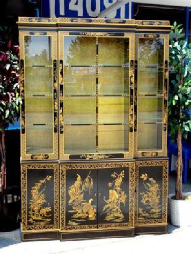 Bon $1,295 OBO Spectacular Drexel Heritage Etcetera Collection Oriental China  Cabinet