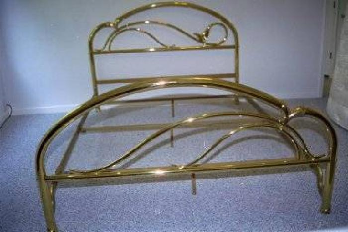 , jb ross brass bed  queen size  heirloom bed for sale in, Headboard designs