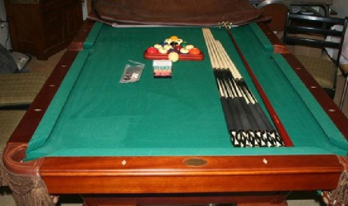 Cannon Pool Table For Sale In Shawnee Mission Kansas - Cannon pool table