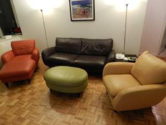 1 399 Macy 39 S Almafi Full Leather Living Room Furniture