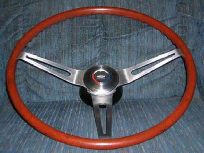 $1,400 69 Chevy Chevelle Camaro Impala Rosewood Steering Wheel
