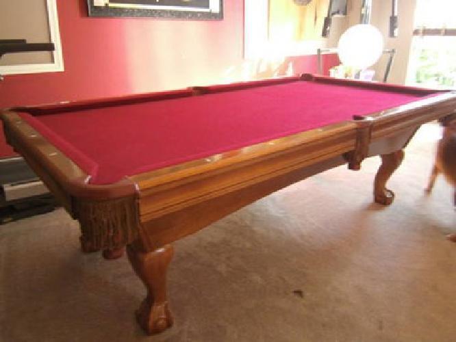 Pool Table Brunswick Bradford For Sale In Bradenton - Brunswick bradford pool table