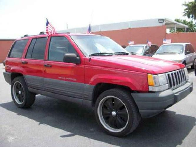 1 495 used 1996 jeep grand cherokee for sale for sale in miami. Cars Review. Best American Auto & Cars Review