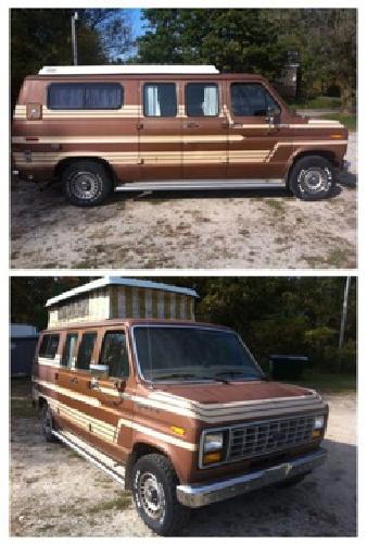 1500 1985 Ford Econoline Conversion Van