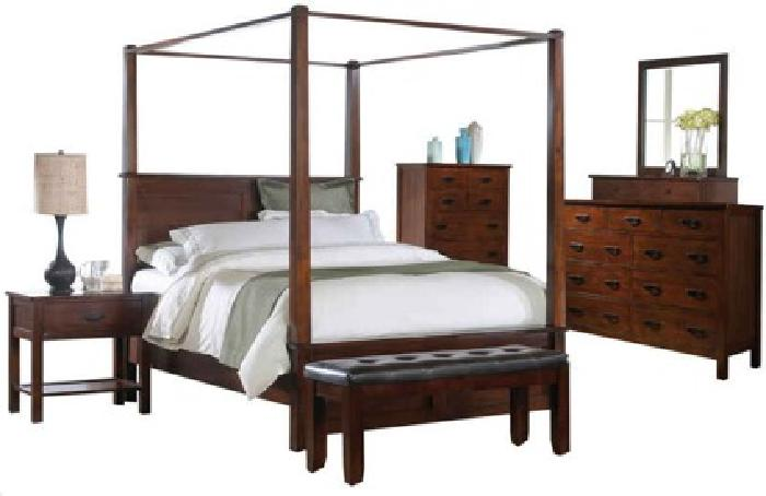 1 500 Canopy Bedroom Set Get The Whole Set Queen Set Only