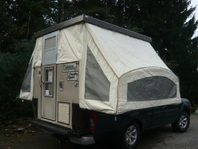1 500 Coleman Truck Camper For Small Trucks For Sale In