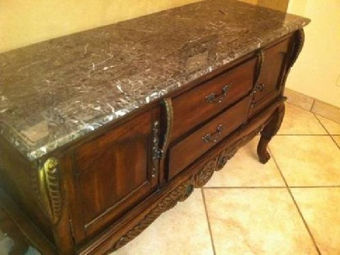 1 500 Formal Dining Room Table And Buffet Solid Wood