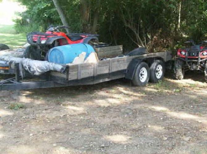 $1,500 Heavy Duty Trailer with brakes, 6.5ft wide, 18ft long dove tail