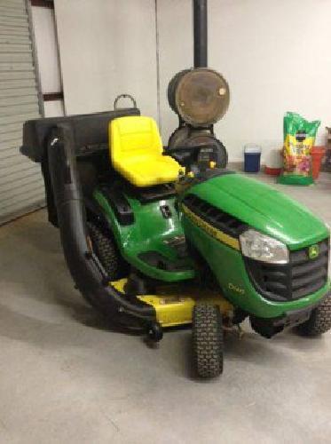 $1,500 John Deere D140 Mower with Bagger (Tuttle)