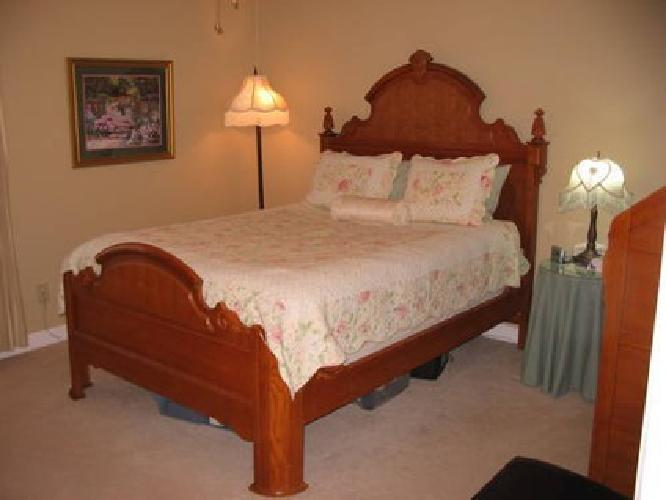 1 500 oak bedroom set lexington victorian sampler for - King size bedroom sets for sale by owner ...