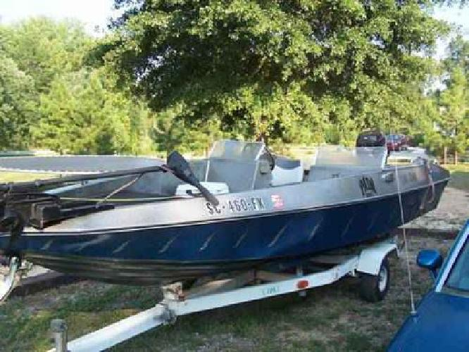 $1,500 Pipestone Mariner -15ft- Bomber Edition 80hp Mercury Outboard Fish/Ski