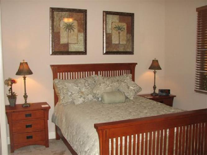 1 500 Queen Bedroom Set Mission Style For Sale In Fort