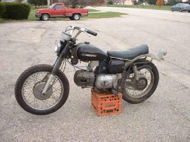 $1,600 1968 harley sprint 250 cc