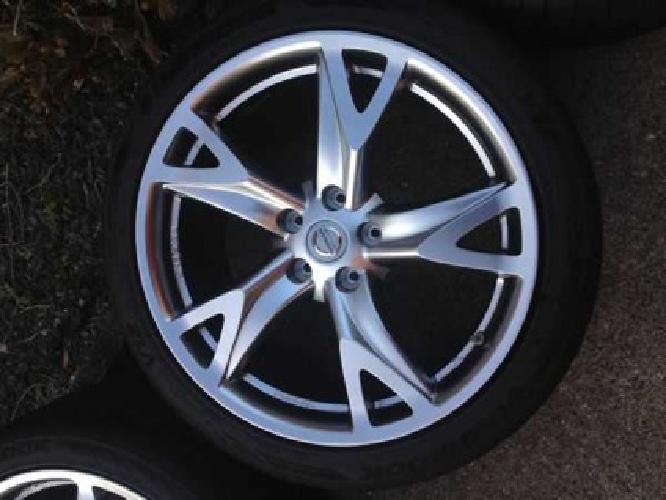 1 600 nissan 370z oem wheels philly for sale in. Black Bedroom Furniture Sets. Home Design Ideas